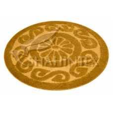 Коврик для ванной Shahintex PP Lux золотой 9 (100*100) см