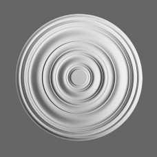 Потолочная розетка из полиуретана R40