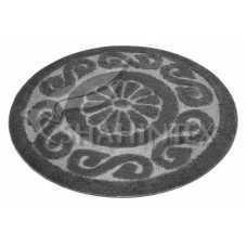 Коврик для ванной Shahintex PP Lux серый 50 (100*100) см