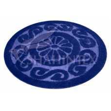 Коврик для ванной Shahintex PP Lux синий 56 (100*100) см