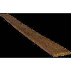Доска рустик фасадная 120*20мм Дуб, длина 2м