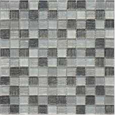 Мозаика стеклянная Silk Way Black Tissue