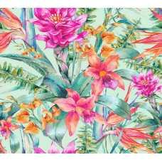 Тропические цветы H-077, 300х270