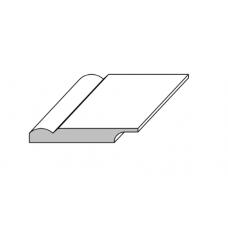 Плинтус из массива сосны 06-83-16/18 тонированный