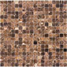 Мозаика из натурального камня Emperador Dark
