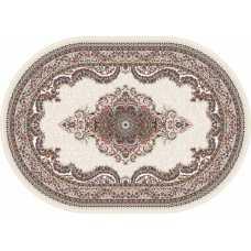 Ковер Isfahan Merinos D506, CREAM 1,60*2,20 овал