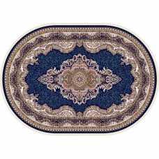 Ковер Isfahan Merinos  D506, NAVY 1,60*2,20 овал