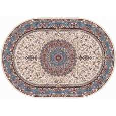 Ковер Merinos Shahreza d205 CREAM-BLUE 2,00*2,85 овал